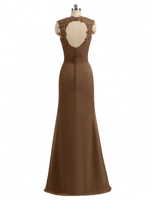 Babaroni Alessia Sheah Open Back Dresses with Sweethart