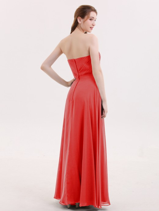 Babaroni Evangeline Strapless Maxi Dresses with Sweetheart