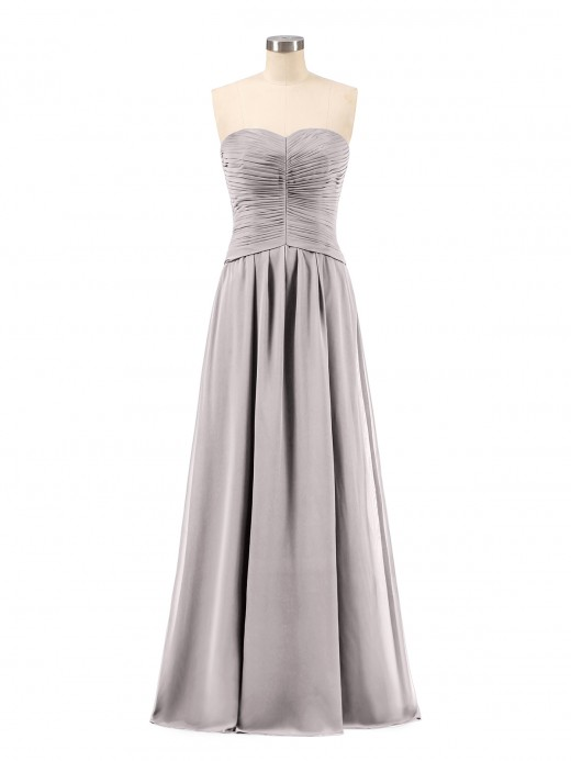 Babaroni Gabrielle Chiffon Strapless Dresses with Sweetheart