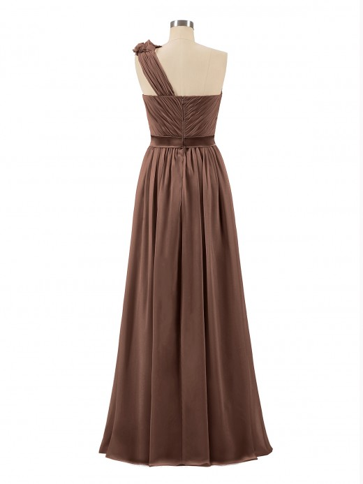 Babaroni Mirabelle Long Chiffon Dresses with FLOWERS
