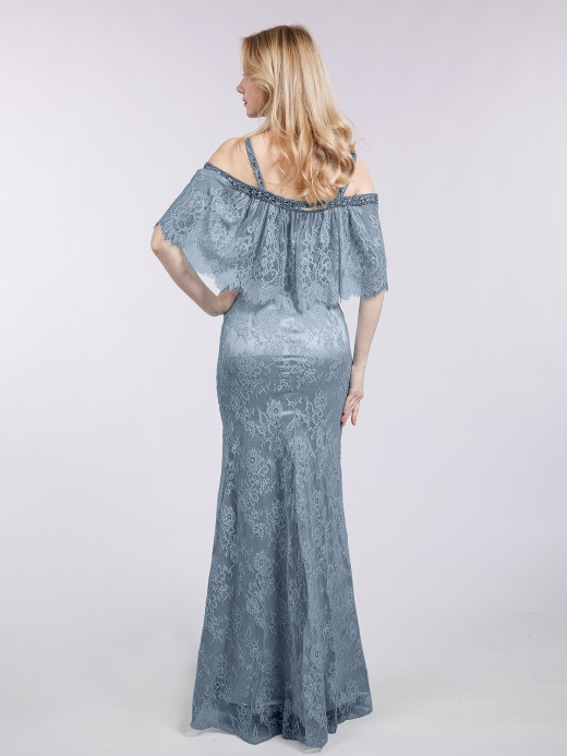 Babaroni Susie Long Lace WITH Beaded Mermaid Dresses