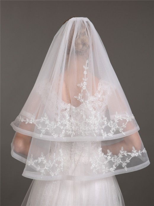 Babaroni Wedding Accessories  Veil02 Wedding Dress Accessories Veil02