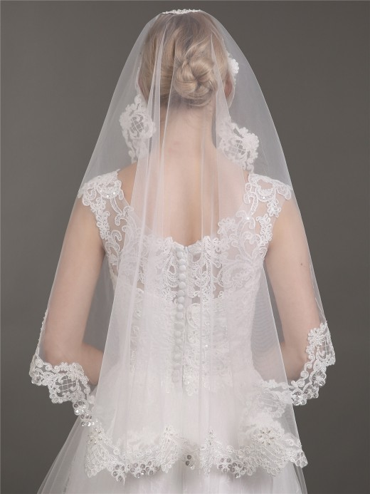 Babaroni Wedding Accessories Veil07 Wedding Dress Accessories Veil07