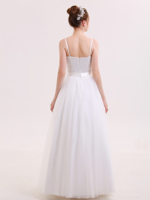 Babaroni Susanna Sapghetti Strap Wedding Dresses with Sweethart
